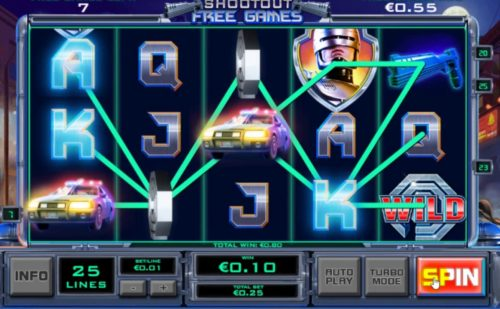 Help Fight Crime for Big Wins in Robocop Slots