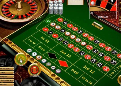Spin the European Roulette Wheel