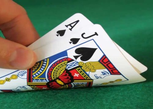 Take on the Dealer Playing Blackjack