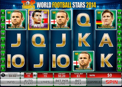 Win Jackpots Playing Top Trumps Football Stars Slot