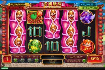 Travel to Asia Playing Xuan Pu Lian Huan Slots